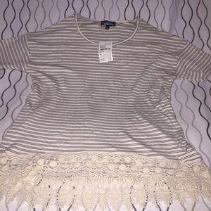 NWT Nordstrom rack striped shirt
